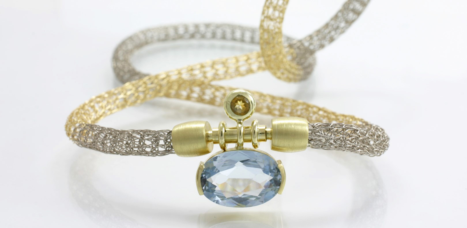Halskette, Strickkette